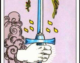 La carta de espadas